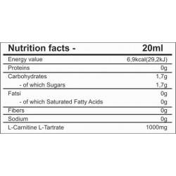 Valores CARNITINE LIQUID WOMAN | Pronutrition