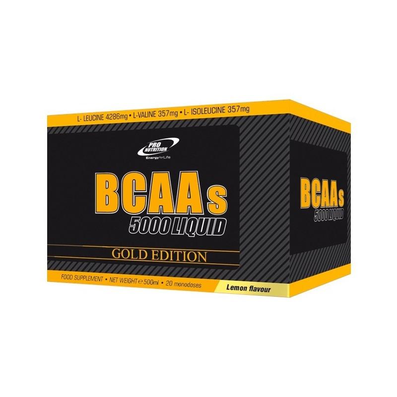 BCAAS Liquidos de Pro Nutrition